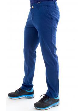BRAVE Μπλε ρουα ελαστικό τσίνος παντελόνι