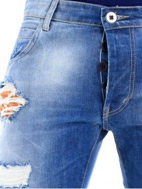 STEFAN Fashion παντελόνι, μιλιτέρ μπαλώματα