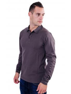 REPLAY Πικέ μπλούζα γιακά, μεταλλικά κουμπάκια