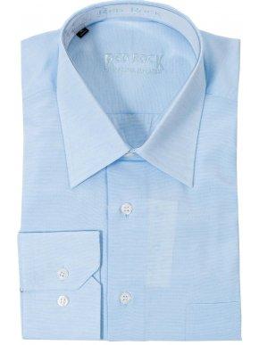 RR Ανδρικό γαλάζιο regular πουκάμισο