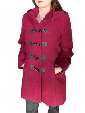 BRAVO Μοντγκόμερι παλτό, κοκάλινα κουμπιά