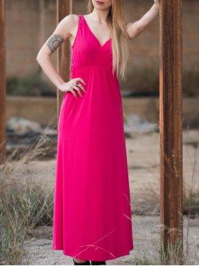 LAVAND Αμπίρ φόρεμα με δαντέλα
