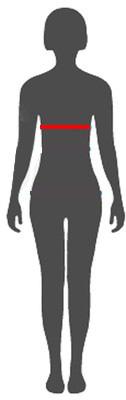 Μεγεθολογιο για γυναικειες μπλουζες, τοπ, μπουφαν