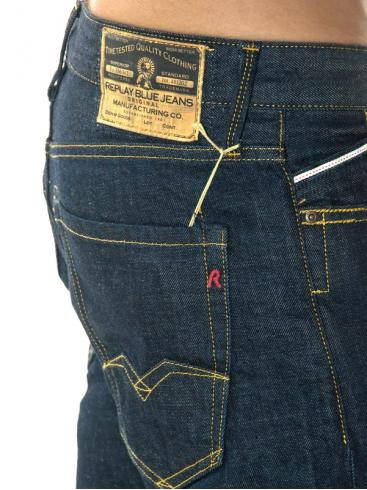 REPLAY Classic fit denim παντελόνι τζιν με ίσια γραμμή