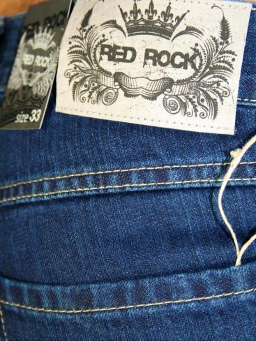 RED ROCK Ανδρικό κλασσικό τζιν, στυλ Levis 501