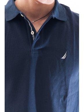 NAUTICA Ανδρικό μπλε navy μπλουζάκι πόλο