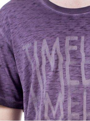REPLAY Συλλεκτική φλάμα άνετη μπλούζα T-Shirt