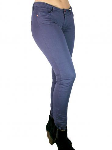 BSB Ελαστικό χαμηλοκάβαλο πεντάτσεπο παντελόνι
