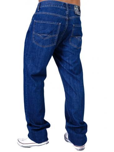 RED ROCK Κλασικό ψηλόμεσο τζιν παντελόνι