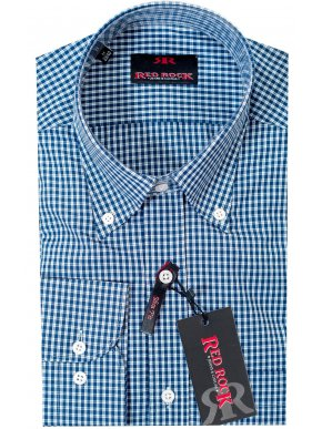 More about RED ROCK slim fit ψιλό καρό πουκάμισο