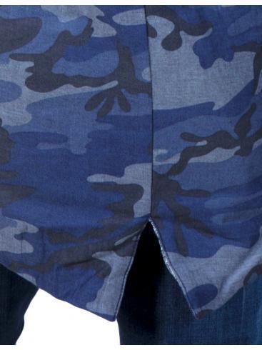 STEFAN Ανδρικό fashion μακρύ μπουφάν, slim fit