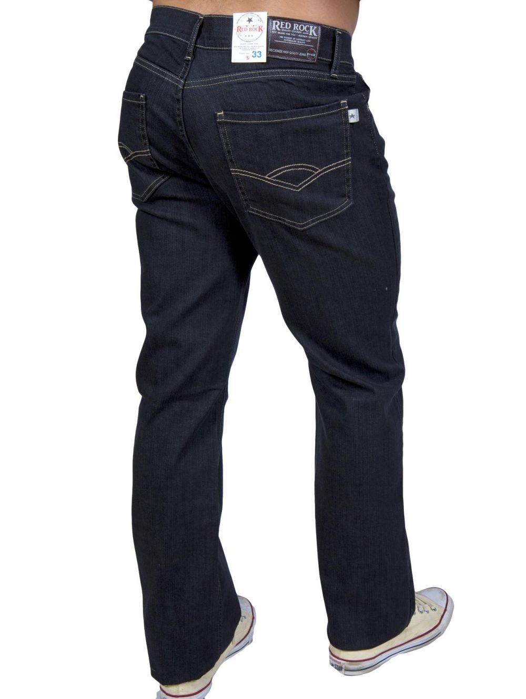 1c47a1284985 RED ROCK Ανδρικό κλασικό ελαστικό παντελόνι τζιν