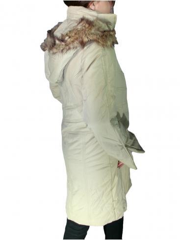 ΜΟΧ Μακρύ μπουφάν, αποσπώμενη κουκούλα