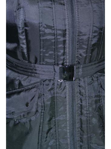 MILLS Μεσάτο μπουφάν, πλεκτός γιακάς