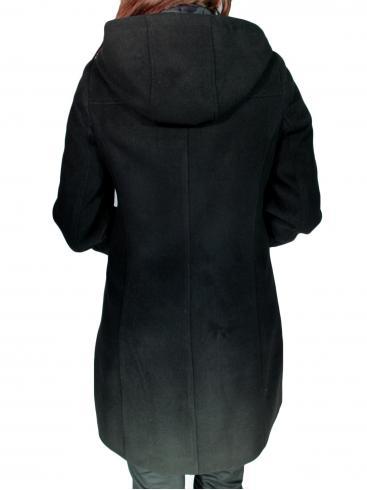 BRAVO Μοντγκόμερι παλτό, κουκούλα με φερμουάρ