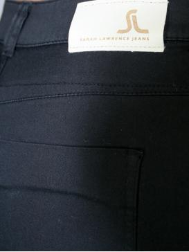 SARAH LAWRENCE Ψηλόμεσο skinny καπαρντινέ παντελόνι