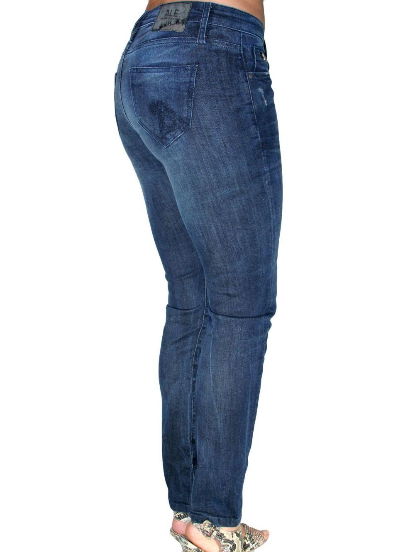 a08a6def4024 ALE Χαμηλοκάβαλο skinny παντελόνι - TOPTENFASHION.gr