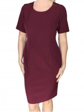 ZINO JORDAN Ελαστικό κοντομάνικο κρεπ φόρεμα