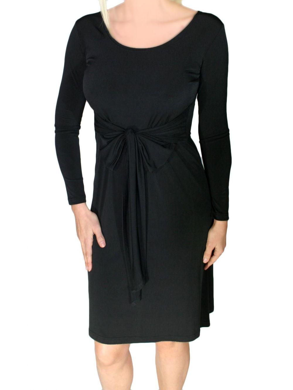 cc4aebd7f584 ZINO JORDAN Ελαστικό μακρυμάνικο φόρεμα - TOPTENFASHION.gr