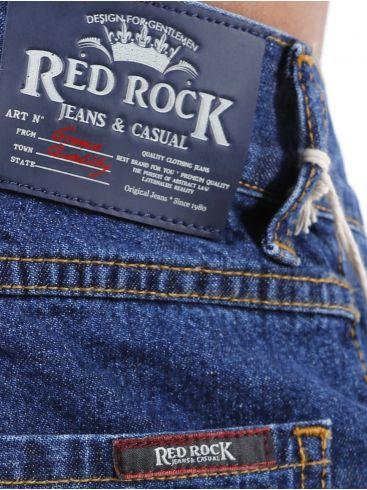 RED ROCK Ισιο Παντελόνι Τζίν, Γραμμή Levis 501