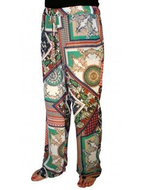More about ZINO JORDAN Βραδινή  παντελόνα μουσελίνα, πλαϊνές τσέπες
