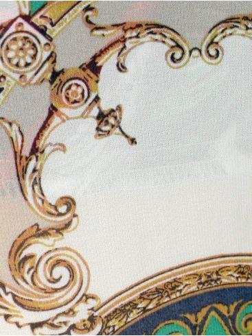 ZINO JORDAN Βραδινή  παντελόνα μουσελίνα, πλαϊνές τσέπες