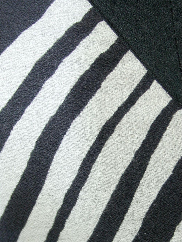 69f92ac4cc5f SARAH LAWRENCE Έθνικ ασπρόμαυρο ζακάρ φόρεμα - TOPTENFASHION.gr
