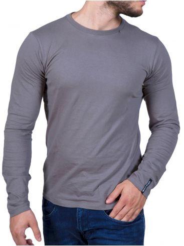 REPLAY Ανδρική slim fit μπλούζα, σταμπάκι πλάτης