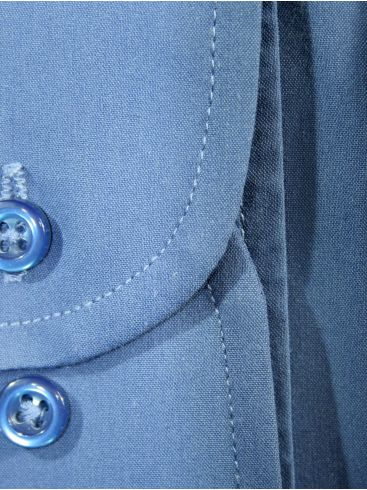 RED ROCK Μπλε ράφ Γραβατοπουκάμισο