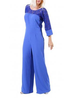 More about ZINO JORDAN Ολόσωμη φόρμα παντελόνι, δαντελωτό μανίκι