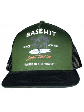 BASEHIT Καπέλο φιλέ CP1759 Pine/BLK
