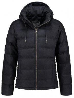 RINO PELLE Ολλανδικό ενισχυμένο μαύρο μπουφάν