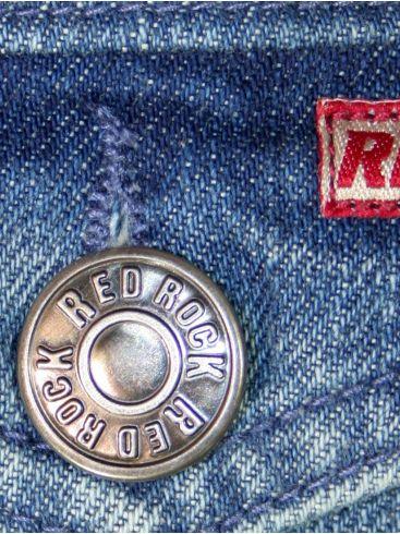 RED ROCK Ανδρικό τζιν τζάκετ, regular fit, τσέπες