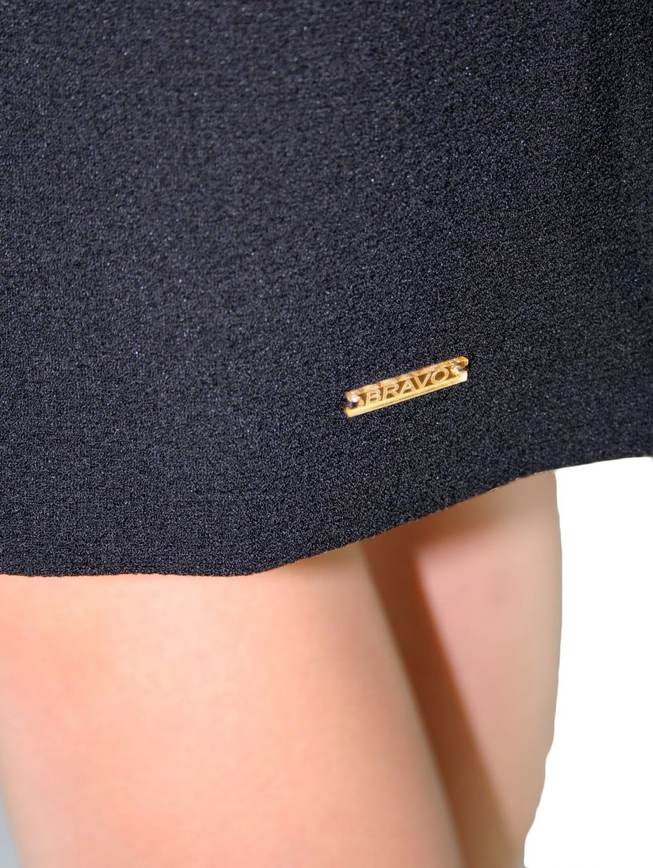 BRAVO Μακρυμάνικο μαύρο φόρεμα 3d728de1317