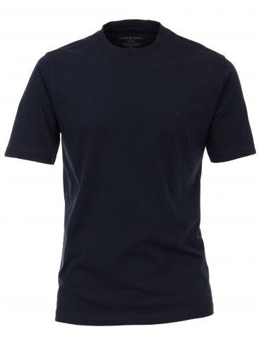 CASA MODA Μακρύ άνετο μπλέ μπλουζάκι, οργανικό βαμβάκι, έως 7XL