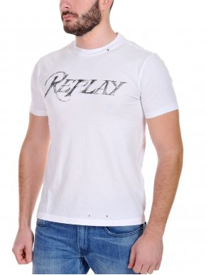 More about REPLAY Ανδρικό T-Shirt με σκισίματα