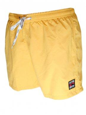 KYBBVS Ανδρικό κίτρινη μαγιό βερμούδα, quick dry