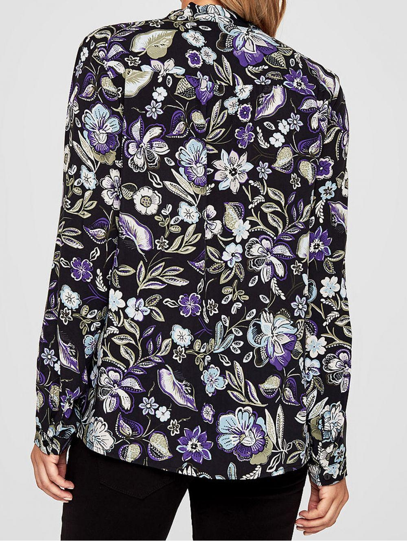 cb1c86d69620 S.OLIVER Γυναικείο εμπριμέ πουκάμισο
