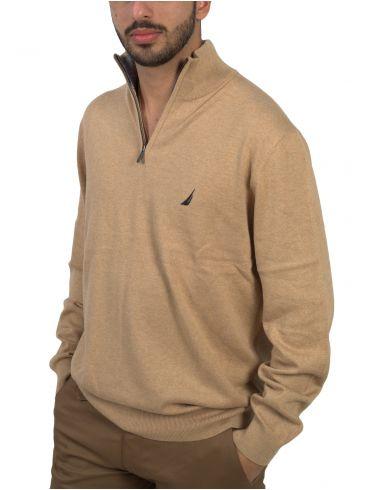 NAUTICA Ανδρική μακρυμάνικη πλεκτή μπλούζα