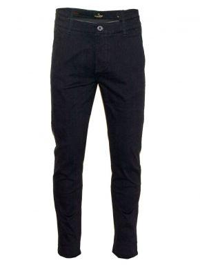 VAN HIPSTER Ανδρικό blue black τσίνος παντελόνι
