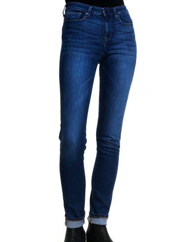 FRANSA Γυναικείο ελαστικό regular waist skinny παντελόνι τζιν