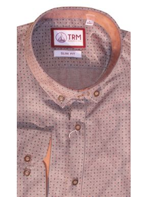 More about TRM Ανδρικό πουκάμισο, Ιταλικός σχεδιασμός, κουμπιά γιακά