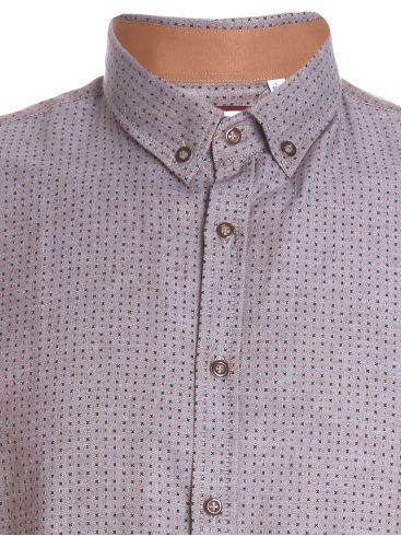 TRM Ανδρικό πουκάμισο, Ιταλικός σχεδιασμός, κουμπιά γιακά