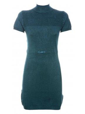 More about NEW COLLECTION Ιταλικό κυπαρίσσι κοντομάνικο πλεκτό ελαστικό φόρεμα