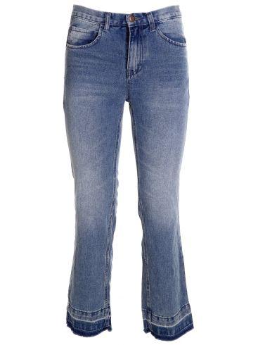 ZUIKI Ιταλικό γυναικείο γκρί ελαστικό super skinny τζιν παντελόνι