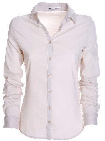 ZUIKI Γυναικεία Ιταλική λευκή διάτρητη πλεκτή μπλούζα