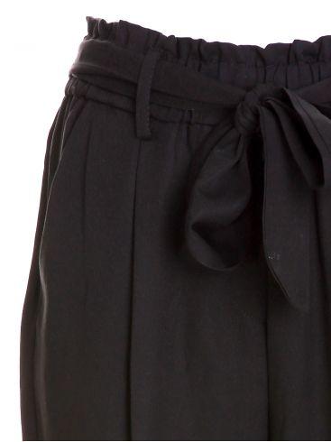 ZUIKI Ιταλικό γυναικείο μπλέ ψιλοκάβαλο σταθερό παντελόνι τζιν, ξέφτια