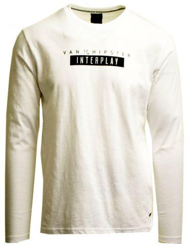 VAN HIPSTER Ανδρική μαύρη μακρυμάνικη μπλούζα