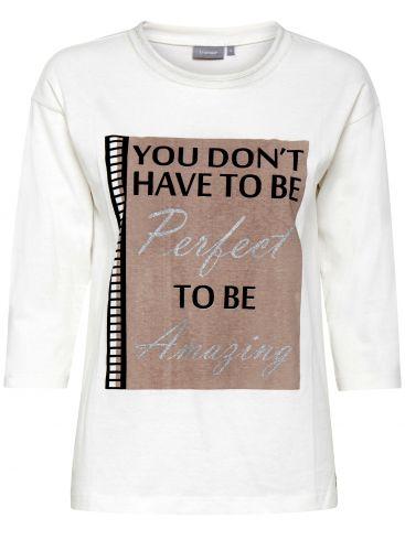 FRANSA Γυναικεία πλεκτή μακρυμάνικη μπλούζα.