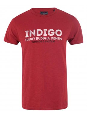 More about FUNKY BUDDHA Ανδρικό κόκκινο T-Shirt, FBM015-04119 Red
